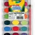 Crayola Washable Watercolors-24 colors