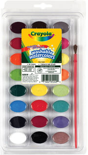 Crayola Washable Watercolors-24 colors, , hi-res