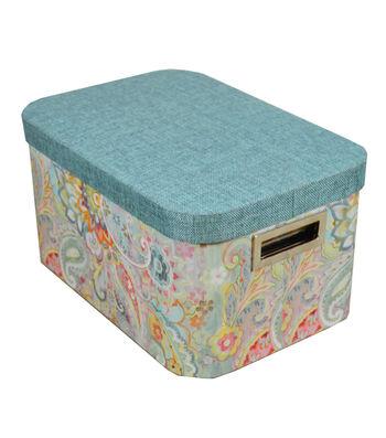 Organizing Essentials Large Oval Storage Box-Boho Japonais