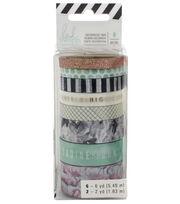 Heidi Swapp Pineapple Crush 8 pk Decorative Tape Rolls, , hi-res