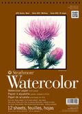 Strathmore 400 Series 12 Sheets 9\u0027\u0027x12\u0027\u0027 Watercolor Pad