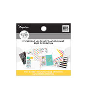The Happy Planner Girl Tiny Sticker Pad-Miss Maker, , hi-res