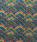 Knit Prints Rayon Spandex Fabric-Multi Color Global Pyramid