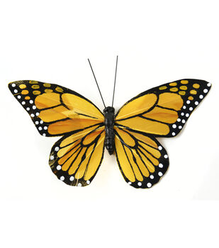 Monarch Butterfly with Clip 5''