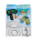 Pretty Twisted Crafts Just Beach Patch DIY Kit
