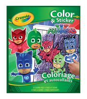 Crayola Color`n Sticker Book-PJ Masks, , hi-res