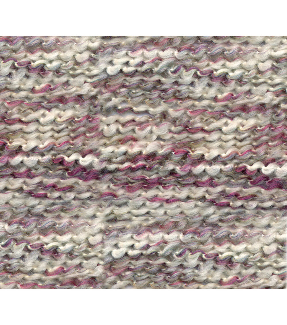Crochet purple beanie handmade hat made with homespun yarn in color purple haze
