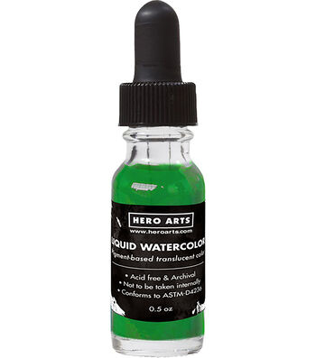 Hero Arts Liquid Watercolors .5oz-Leaf