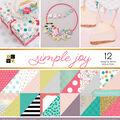 Park Lane 36 Pack 12\u0027\u0027x12\u0027\u0027 Premium Stack Printed Cardstock-Simple Joy