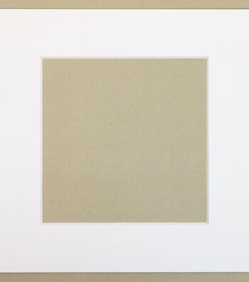 Photo Mat 12X12 to 8X8 Opening-White