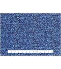 Keepsake Calico Cotton Fabric 43\u0022-Multi Blue Marble Blender