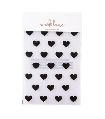 Park Lane Paperie Diagonal Stripe Embossing Folder 5 x 7