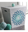 Buttercream Audrey Collection Large Furniture Applique-Loopy Flower