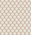 Eaton Square Lightweight Decor Fabric 53\u0022-Text Book/Coral