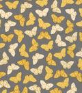 Valori Wells Cotton Fabric-Butterflies Charcoal