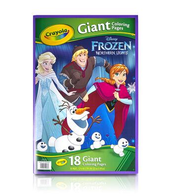 "Crayola Giant Disney Coloring Book 12.75""X19-7/16"" 18pg-Frozen"
