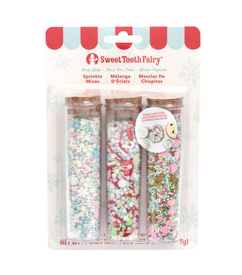The Sweet Tooth Fairy Christmas 3 pk Candy Mixes-Holly Jolly