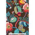 Home Decor 8\u0022x8\u0022 Fabric Swatch-Genevieve Gorder Tropical Fete Onyx
