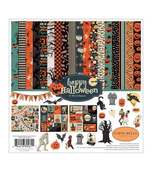 Carta Bella Collection Kit 12''X12''-Happy Halloween