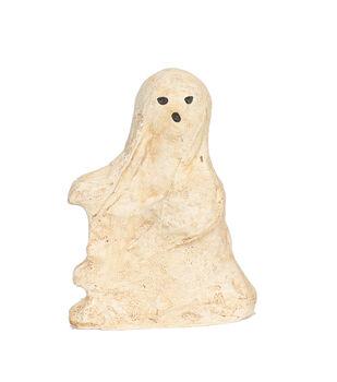 Maker's Halloween Medium Paper Pulp Ghost Tabletop Decor