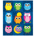 Carson Dellosa Colorful Owls Prize Pack Stickers 12 Packs