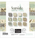 Couture Creations Double-Sided Paper Pad 6\u0022X6\u0022 24/Pkg-Seaside And Me
