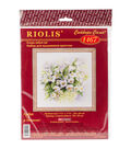 RIOLIS 11.75\u0027\u0027x11.75\u0027\u0027 Counted Cross Stitch Kit-Watercolor Jasmine