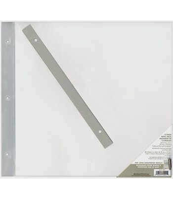 Memory Collections Top-Load Refill Pages w/Inserts-12x12