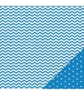 American Crafts Basics Chevron Double-Sided Cardstock