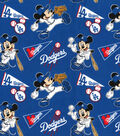 Los Angeles Dodgers Cotton Fabric-Mickey