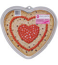 Wilton Giant Cookie Pan-Heart 11.5\u0022X10.5\u0022X.75\u0022