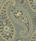 Home Decor 8\u0022x8\u0022 Fabric Swatch-Waverly Caftan Paisley Moonstone