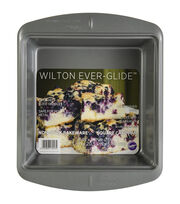 "Wilton Ever-Glide Non-Stick 8"" Square Pan, , hi-res"