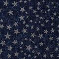 Patriotic Cotton Fabric 43\u0027\u0027-Blue Glitter Stars & Swirls