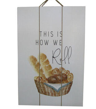 Simply Autumn Wall Decor-This is How We Roll