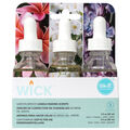 We R Memory Keepers 3 pk Wick Garden Breeze Candle Making Scents