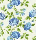 Home Decor 8\u0022x8\u0022 Swatch Fabric-Williamsburg Charlotte Bluebell