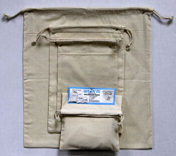 Wear'm Organizer Bags Natural Value Pack