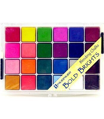 Inkadinkado Blending Chalks-Bold Brights