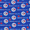 Toronto Blue Jays Cotton Fabric -Logo