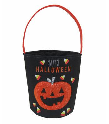 Maker's Halloween Trick or Treat Bag-Jack-o'-lantern & Happy Halloween