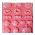Stamperia Stampo Maxi 16 pk Soft Molds-Cookies