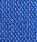 Sportswear Apparel Fabric-Mini Diamond Quilted Blue Denim