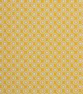 1930\u0027s Cotton Fabric 43\u0022-Floral Dot Yellow