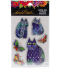 Stampendous Laurel Burch Dies-Indigo Cats