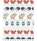 Nursery Flannel Fabric 42\u0027\u0027-Woodland Linear
