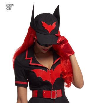 Simplicity Pattern 8432 Misses' Costume-Size H5 (6-8-10-12-14)