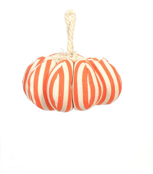 Maker's Halloween Medium Pumpkin-Orange Stripes