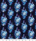 Marvel Cotton Fabric-Marvel Thanos Galaxy