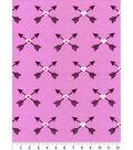 Snuggle Flannel Fabric 42\u0027\u0027-Bright Tribal Arrows